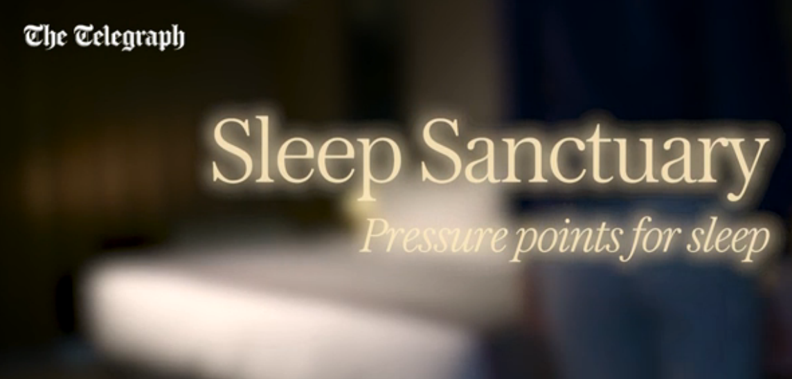The Telegraph How To Utilise Sleep And Relaxation Pressure Points